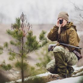 Entfernungsmesser für die Jagd
