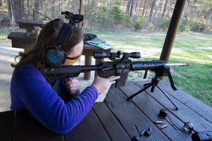 Dreibein Gewehrauflage als Vorderschaftauflage