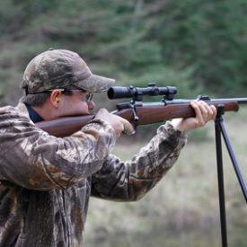 Schießstock für die Jagd