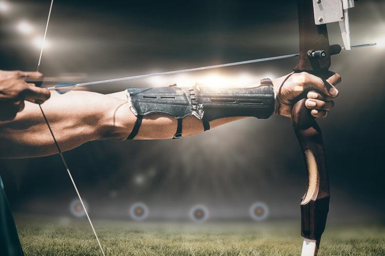Bogenschießen Ausrüstung - Der Armschutz