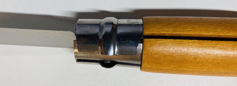 Sicherungmechanismus Opinel Taschenmesser